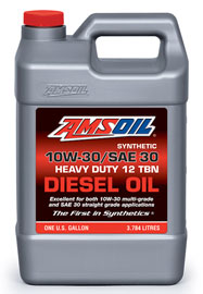 Synthetic SAE 10W-30/SAE 30 Heavy-Duty Motor Oil (ACD)