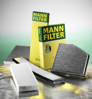 MANN-FILTERS CABIN AIR FILTERS
